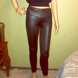 Miley Cyrus x Max Azria Metallic Leggings Sz L(M)